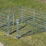 Väravaga kogumisaed-lamba